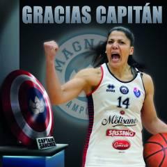 Carolina Sanchez e la salvezza vissuta dall'Argentina