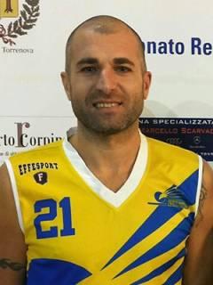 Arriva in giallorosso Simone Albana, la Sicily Express Courier NPM firma l'esperto giocatore pattese