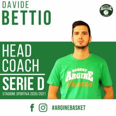 Davide Bettio confermato al timone della SERIE D green!
