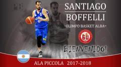 BENVENUTO SANTIAGO BOFFELLI!