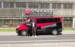 Nuovo furgone per il settore giovanile di Pallacanestro Bolzano