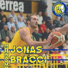 Jonas Bracci confermato nel roster per la stagione 2020/2021 in attesa della decisione sul ripescaggio in Serie B