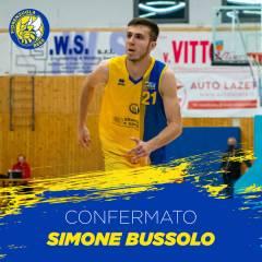 Simone Bussolo rimane nello sciame di Fiorenzuola Bees anche per il 2021/2022