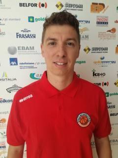 Goldengas Senigallia, il nuovo assistente di coach Foglietti è Matteo Manzoni