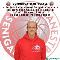 Riccardo Paolini rassegna le proprie dimissioni