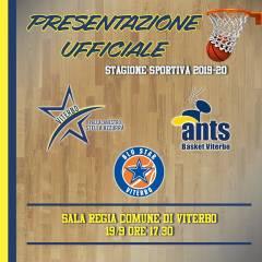 Presentazione stagione sportiva Pallacanestro Stella Azzurra VT, Ants e Blu Star