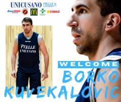 Borko Kuvekalovic nuovo innesto per la Università Niccolò Cusano Pielle Livorno