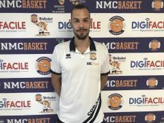 NMC, Patrisio Cicivè in maglia biancoblu. Sarà nel roster di serie C 2019/2020