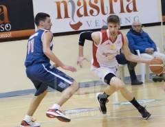 Emin Mavric all'Alfa Basket Catania