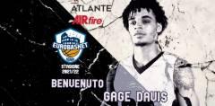 Secondo americano della stagione 2021/22 per l'Atlante Eurobasket Roma: Gage Davis