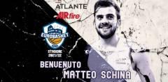 Nuovo playmaker nel roster dell'Atlante Eurobasket Roma nella stagione 2021/22: Matteo Schina