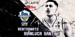 Ritorno in Casa Atlante Eurobasket Roma per la stagione 2021/22: quello di Gianluca Santini
