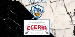 Acqua Egeria e Atlante Eurobasket Roma: avanti insieme