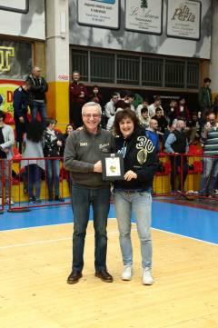 Premiazione 30 anni in Robur Claudia Dalla Valle