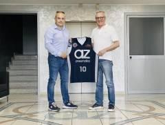 Nuovo main sponsor: la Robur Basket Saronno diventa Az Pneumatica