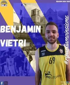 La Slz Solofra riconferma Benjamin Vietri