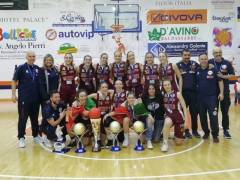 L'Umana Reyer vince la Coppa Italia Under 20 femminile 2018-19 superando Battipaglia