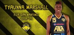 Colpo a stelle e strisce per il Fila, Tyaunna Marshall approda a San Martino di Lupari