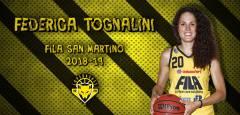 Il Fila riabbraccia Federica Tognalini, altro innesto di qualità per le Lupe