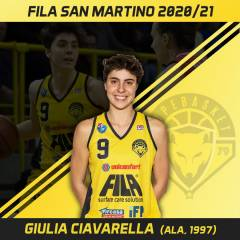 Un'altra riconferma per il Fila: Giulia Ciavarella sarà ancora giallonera