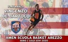 Si chiude con il botto il mercato dell'Amen Scuola Basket Arezzo, De Bartolo è il nuovo regista
