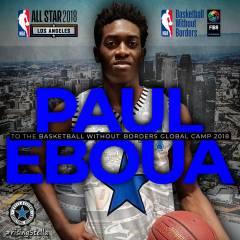 Paul Eboua al Basketball Without Borders Global Camp di Los Angeles
