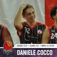 Anche l'under Daniele Cocco sarà inserito nella prima squadra!
