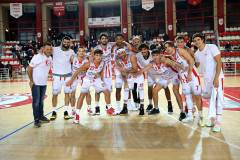 Supercoppa Centenario: TaSp vs Giulia Basket 72-55, coach Stirpe: