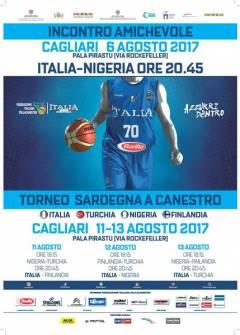 Nazionale a Cagliari ad Agosto: il 6 amichevole con la Nigeria e dall'11 al 13 agosto il Trofeo