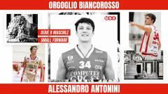 Un tempo promessa ora un punto fisso: Alessandro Antonini confermato!