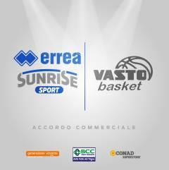Sarà Erreà lo sponsor tecnico della Vasto Basket