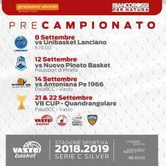 Vasto Basket presenta il #precampionato.