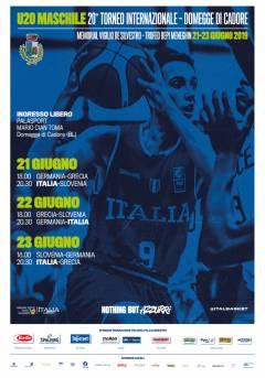 A Domegge (BL) dal 22 al 23 giugno tornano i migliori talenti del basket Europeo