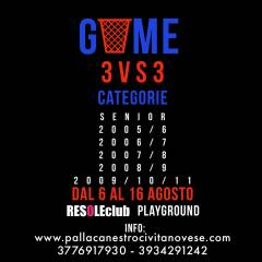 Logo 3vs3 Beach Basket ResoleClub 2020