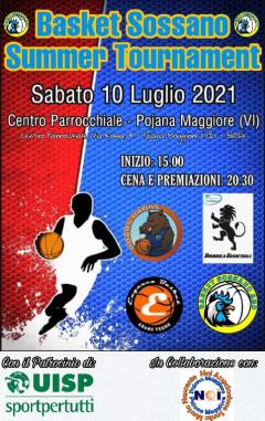 Logo Basket Sossano Summer Tournment 2k21