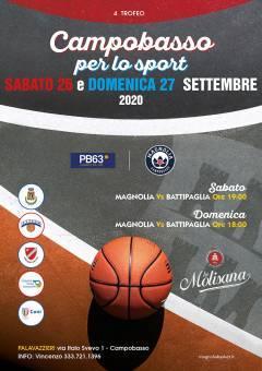 Logo Campobasso per lo sport 2020