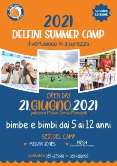 Logo Delfini Summer Camp 2021