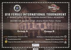 Logo I° International Tournament U18 Female