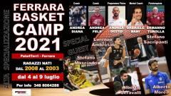 Logo Ferrara Basket Camp 2021