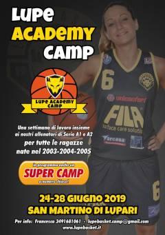 Logo I° Lupe Academy Camp