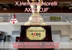 Logo X° Memorial Alberto Morelli