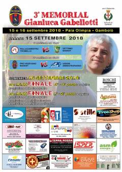 Logo III° Memorial Gianluca Gabellotti