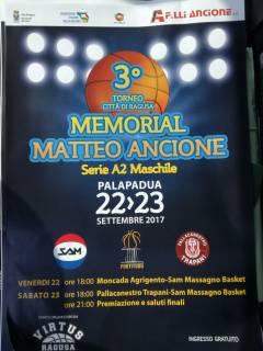 Logo IIIº Memorial Matteo Ancione