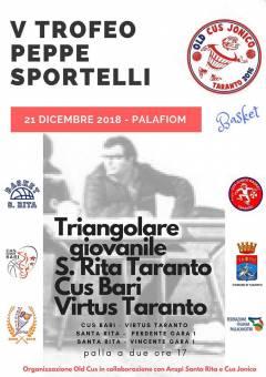 Logo Memorial Peppe Sportelli 2018