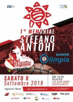 Logo I° Memorial Stefano Antohi