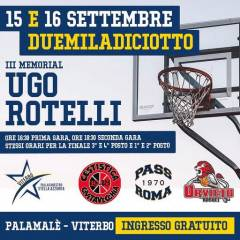 Logo III° Memorial Ugo Rotelli