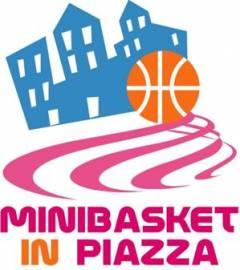 Logo XXVII° Minibasket in Piazza