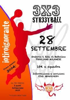 Logo Streetball Pogliano 2019