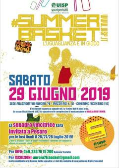 Logo #5 Summer Basket Tour UISP