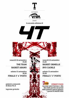 Logo Torneo 4T di Riese Pio X 2019